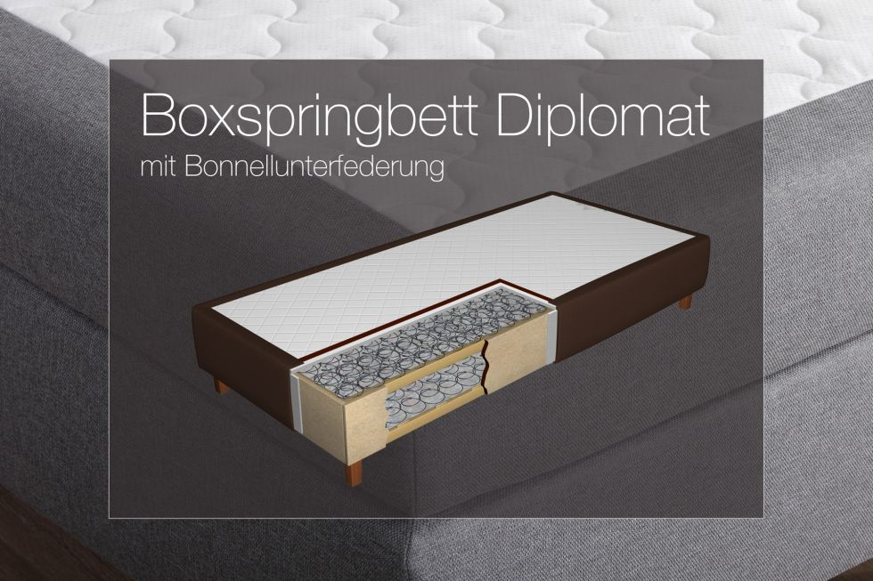 boxspringbetten unterbau textilshop superior. Black Bedroom Furniture Sets. Home Design Ideas